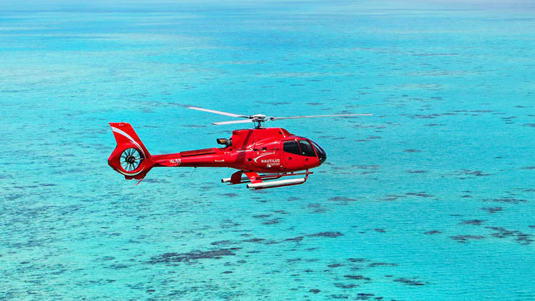 Reef Helicopter Tours Green Island
