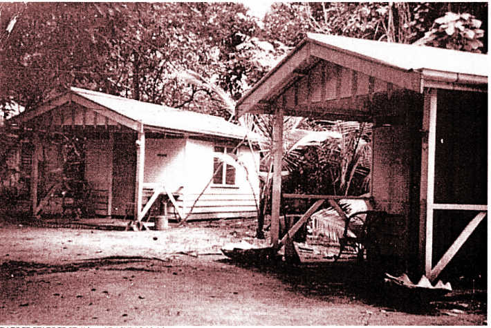 Cabins cira 1950