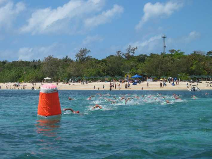 Green Island Ocean Swim 2006