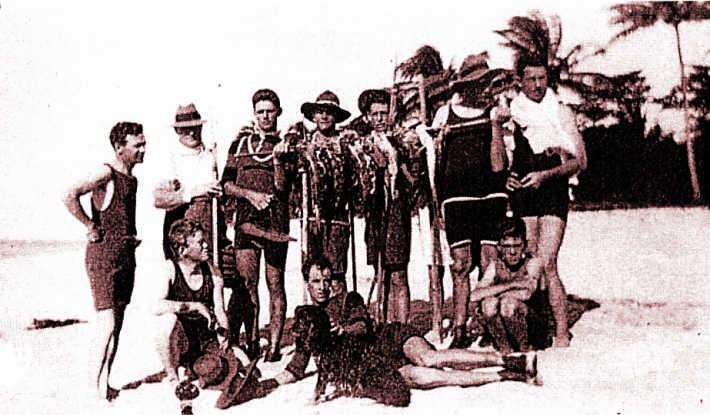 Island visitors 1902