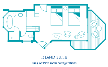 Island Suite King Room